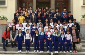 嘉諾撒聖瑪利書院與三年級進行「跨校共讀」活動