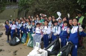 「愛自然」海岸清潔活動2016
